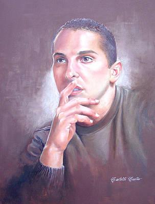 Anthony Frizano Art Print by JoAnne Castelli-Castor