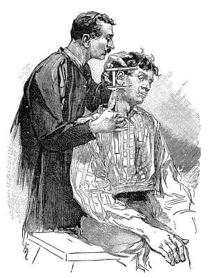 Anthropometry, 19th Century Art Print by