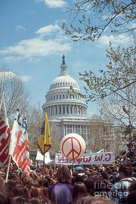 Anti-war Photograph - Anti-war March In Washington, D.c by Katrina Thomas
