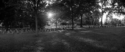 Sharpsburg Photograph - Antietam National Cemtery by Jan W Faul