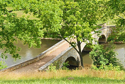 Antietam's Burnside Bridge Art Print by Cindy Manero