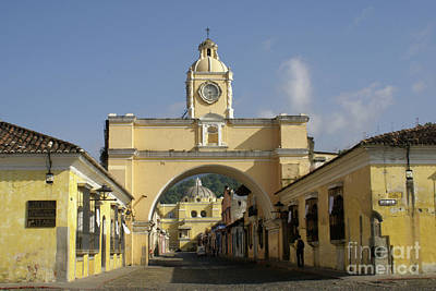 Photograph - Antigua Arch by John  Mitchell
