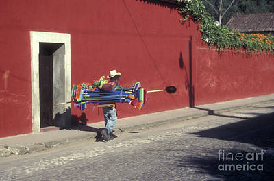 Photograph - Antigua Broom Salesman by John  Mitchell