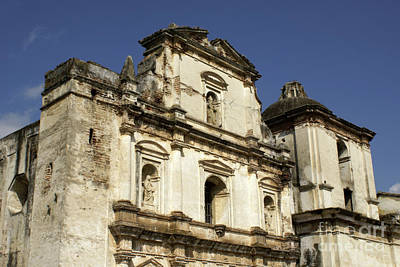 Photograph - Antigua Church by John  Mitchell