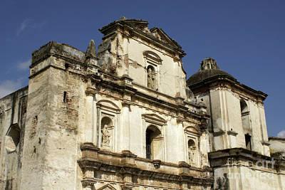 Photograph - Antigua Church by John  Mitchell