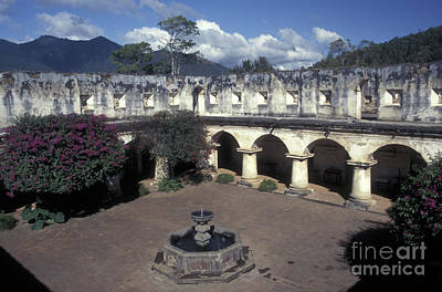 Photograph - Antigua Convent by John  Mitchell