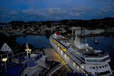 Photograph - Antigua Dusk by Gary Wonning