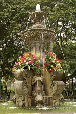 Photograph - Antigua Fountain by John  Mitchell