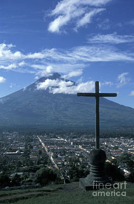 Photograph - Antigua Guatemala by John  Mitchell