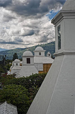 Photograph - Antigua Guatemala Roofs by Francesco Nadalini