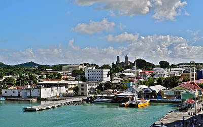 Photograph - Antigua Island Waterfront by Kirsten Giving