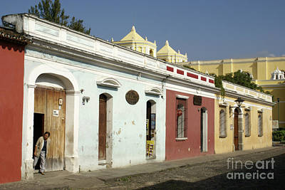 Photograph - Antigua Street by John  Mitchell
