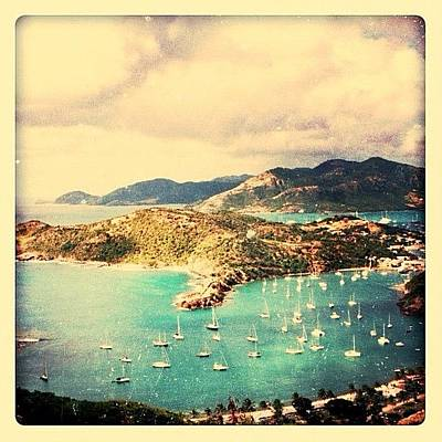 Boat Photograph - Antigua's Turtle Bay by Natasha Marco