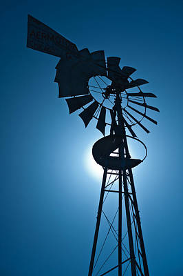 Antique Aermotor Windmill Original by Steve Gadomski