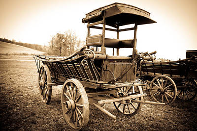 Photograph - Antique American Cart 1 by Emanuel Tanjala