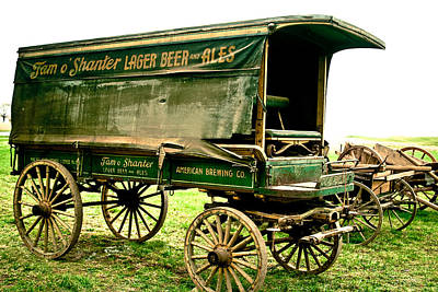 Photograph - Antique American Cart 4 by Emanuel Tanjala