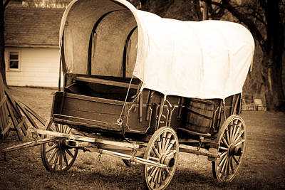 Photograph - Antique American Cart 6 by Emanuel Tanjala