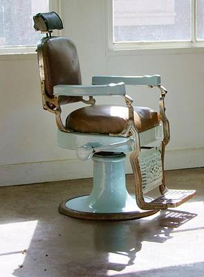 Pasta Al Dente - Antique Barber Chair by Mary Deal