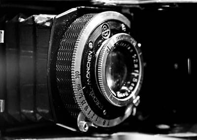 Art Print featuring the photograph Antique Camera by Edward Myers
