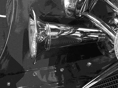 Antique Car Close-up 005 Art Print
