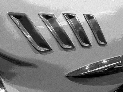 Antique Car Close-up 006 Art Print