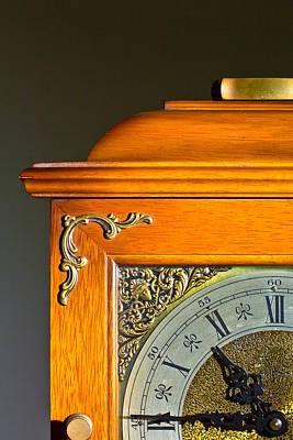 Antique Clock  Art Print by Ken Hunter