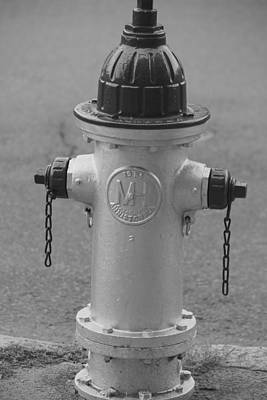 Antique Fire Hydrant Cambridge Ma Art Print