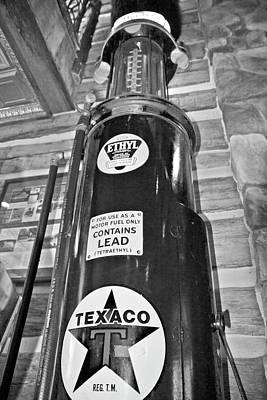 Antique Gas Pumps Photograph - Antique Gas Pump by Betsy Knapp