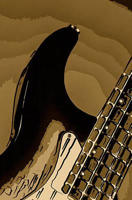 Photograph - Antique Guitar by M K Miller