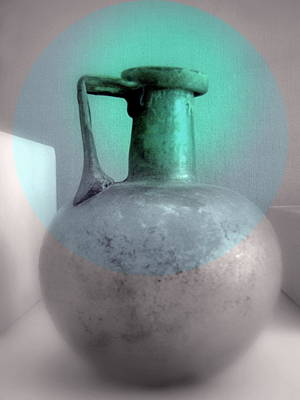 Photograph - Antique Large Pitcher Still Life by Kathleen Grace