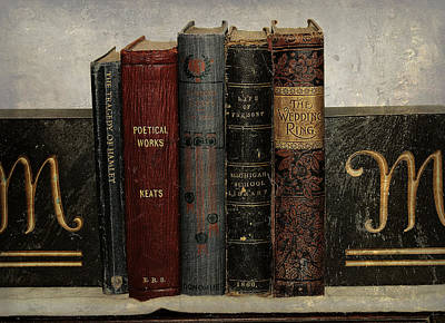 Photograph - Antique Literature by Scott Hovind