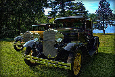 Photograph - Antique Model A Fords by Tim McCullough