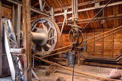 Photograph - Antique Power Station by Lawrence Burry