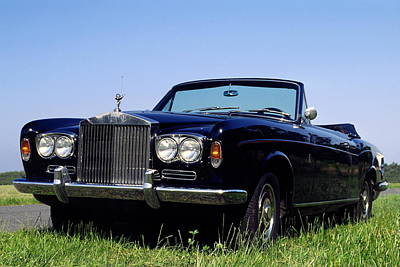 Antique Rolls Royce Art Print