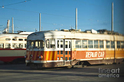 Dogpatch Photograph - Antique Streetcars by Eddy Joaquim