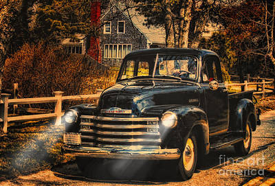 Photograph - Antique Truckin by Gina Cormier