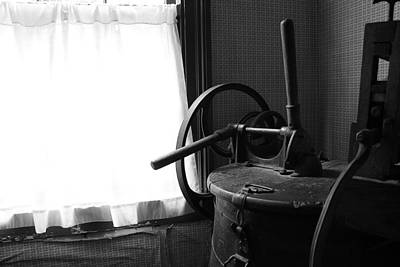 Photograph - Antique Washing Machine by Scott Hovind