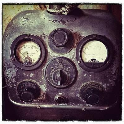 Machine Photograph - Antique X-ray Machine (x-ray Mfg Corp by Natasha Marco