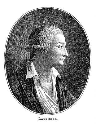Antoine Lavoisier, French Chemist Art Print
