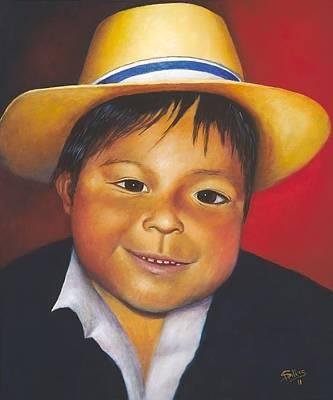 Painting - Antonio by Herman Sillas