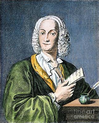 Antonio Vivaldi (1675?-1741) Art Print by Granger