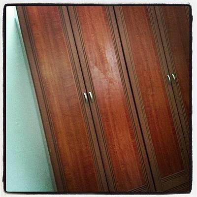 Cheap Photograph - Anybody Wants To Buy These 2 Wardrobes? by Jasmine Lu