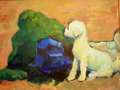 Aotret Dog Original by Alfons Niex