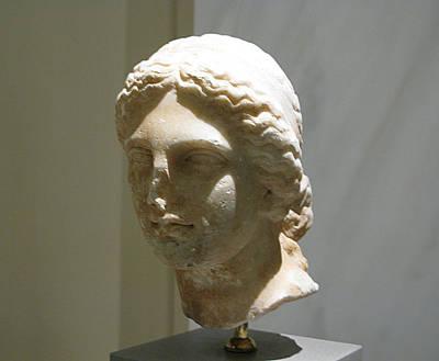 Aphrodite Portrait Art Print by Andonis Katanos