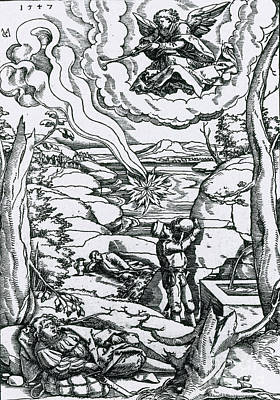 The Book Of Revelation Photograph - Apocalypse, 16th Century by Science Source