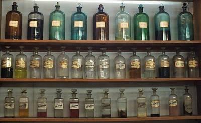 Photograph - Apocethary Jars by Anna Villarreal Garbis