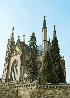 Apollinaris Church In Remagen Print by Design Windmill