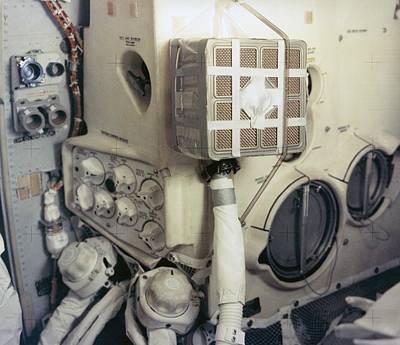 Apollo 13 Lunar Module And The Mailbox Art Print by Everett
