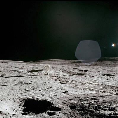 Photograph - Apollo 14 by Stocktrek Images
