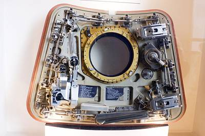Air And Space Museum Photograph - Apollo Command Module Hatch by Mark Williamson